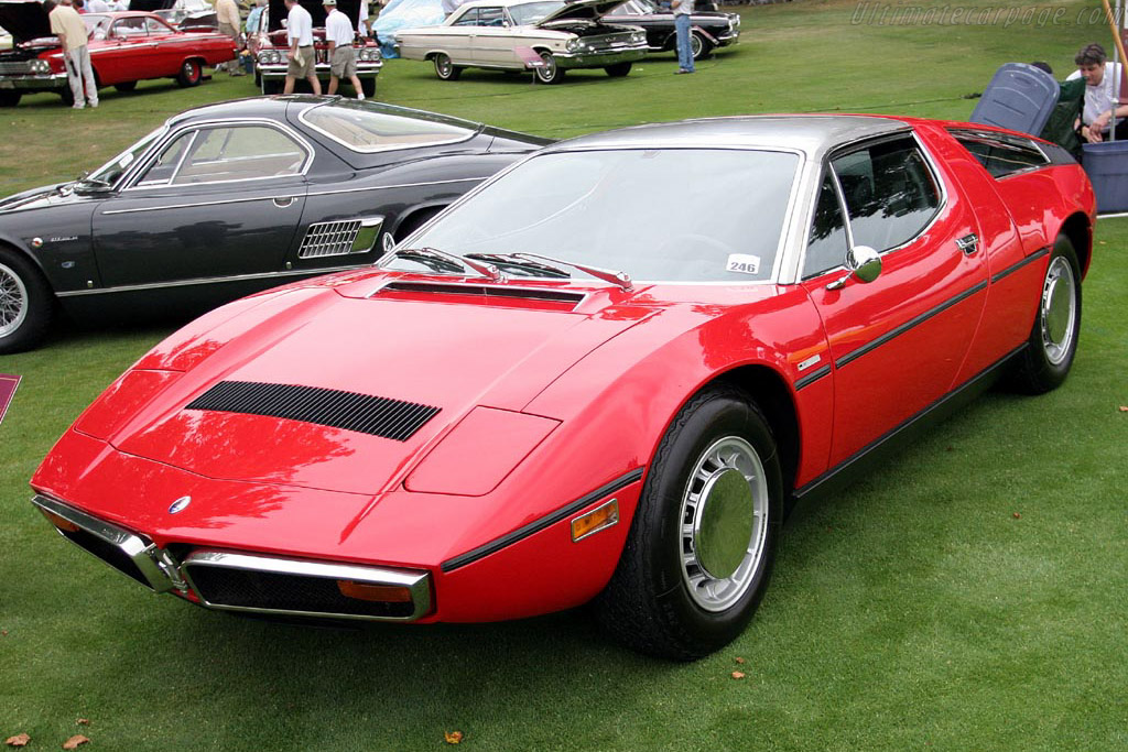 Maserati Bora Coupe    - 2007 Meadow Brook Concours d'Elegance