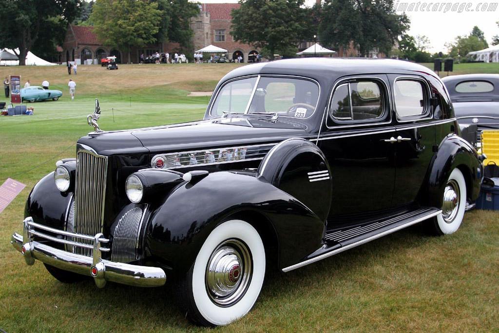 Packard 180 Club Sedan    - 2007 Meadow Brook Concours d'Elegance