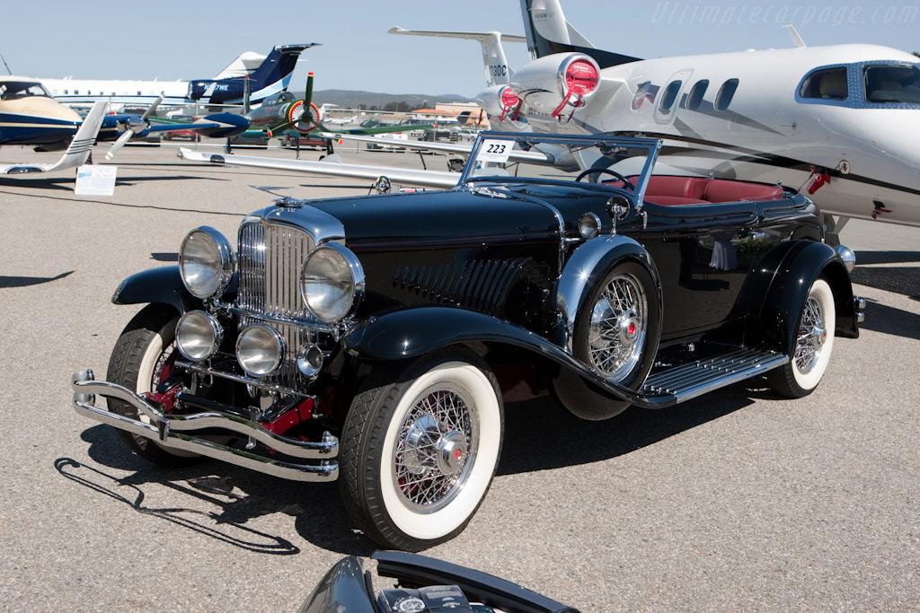 Duesenberg J Torpedo Convertible Victoria    - 2009 Monterey Classic Car Week