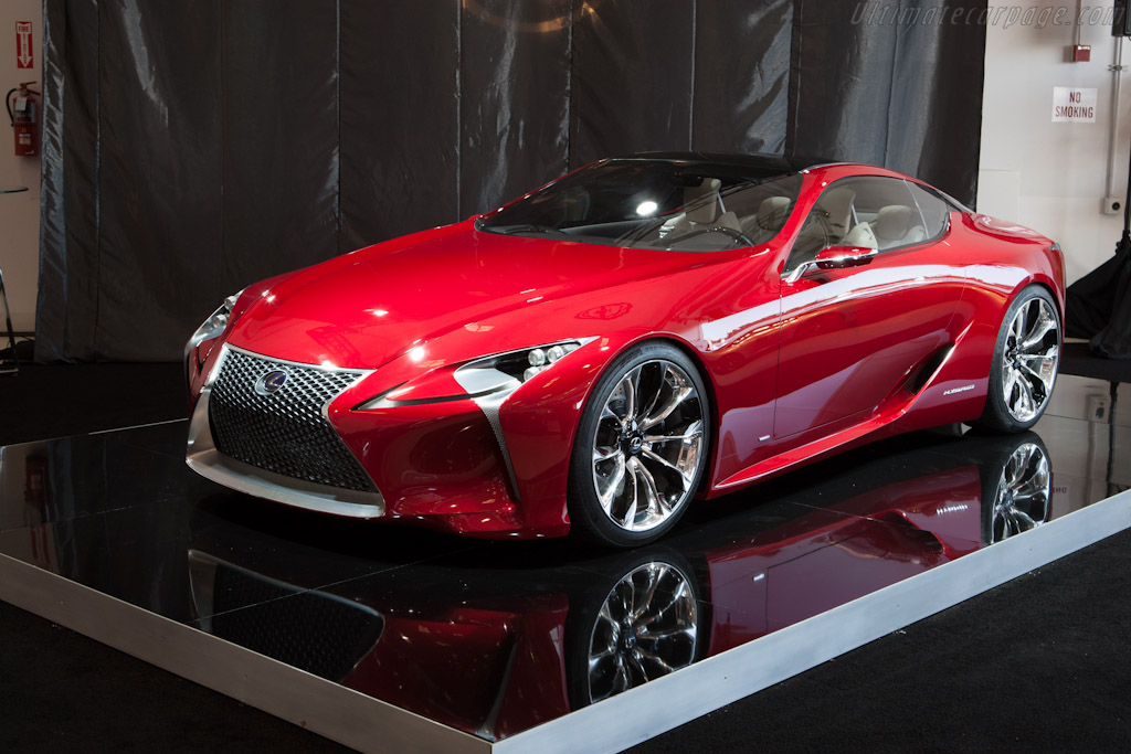 Lexus LF-LC Concept    - 2012 McCall Motorworks Revival