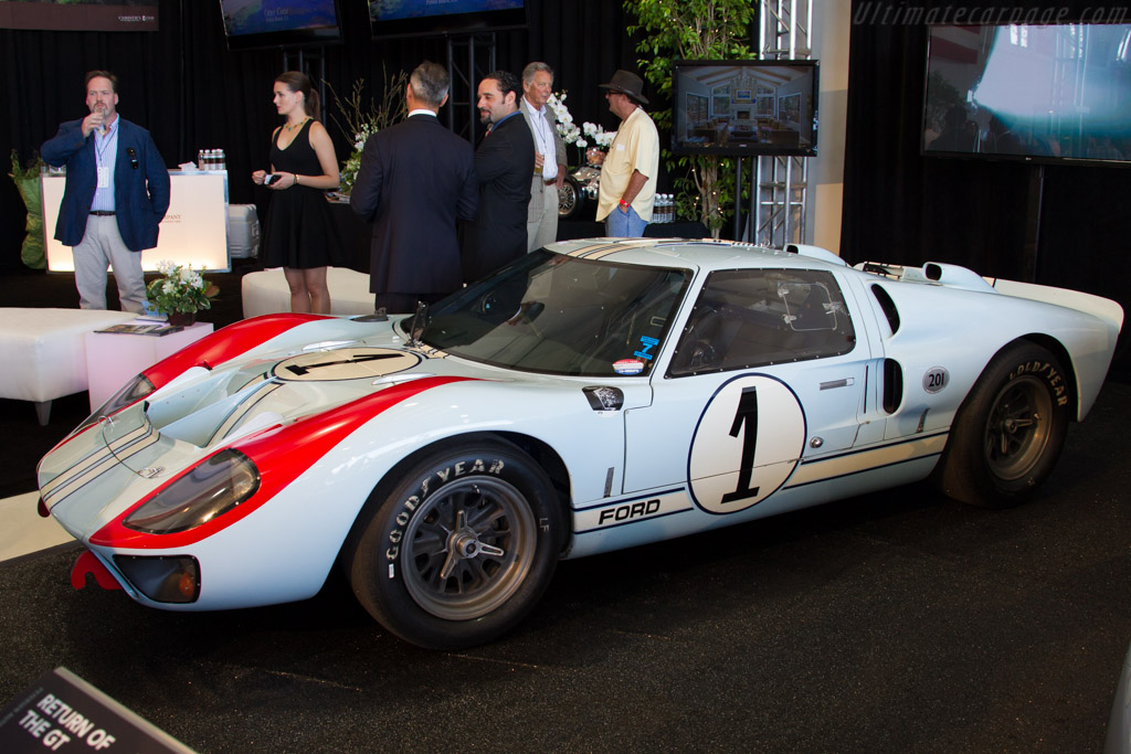 Ford GT40 Mk2 - Chassis: GT40P/1015   - 2015 McCall Motorworks Revival