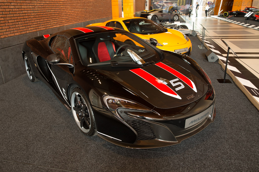 McLaren 650S Can-Am Spider    - McLaren at the Louwman Museum