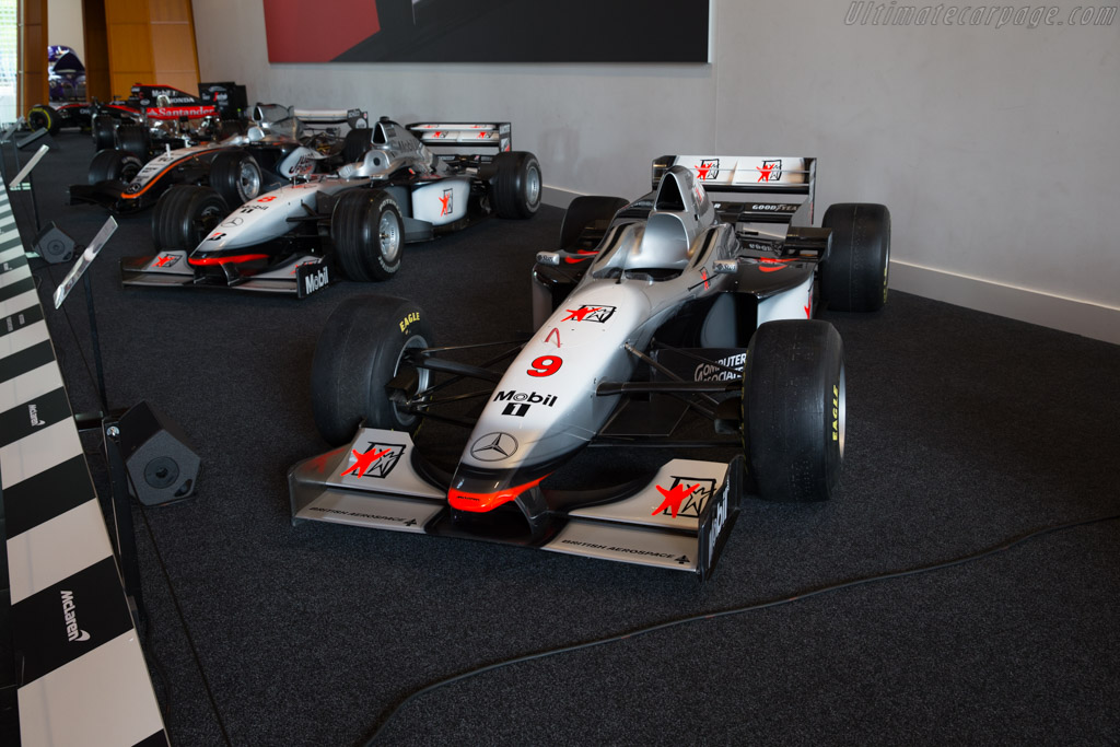 McLaren MP4/12 Mercedes    - McLaren at the Louwman Museum