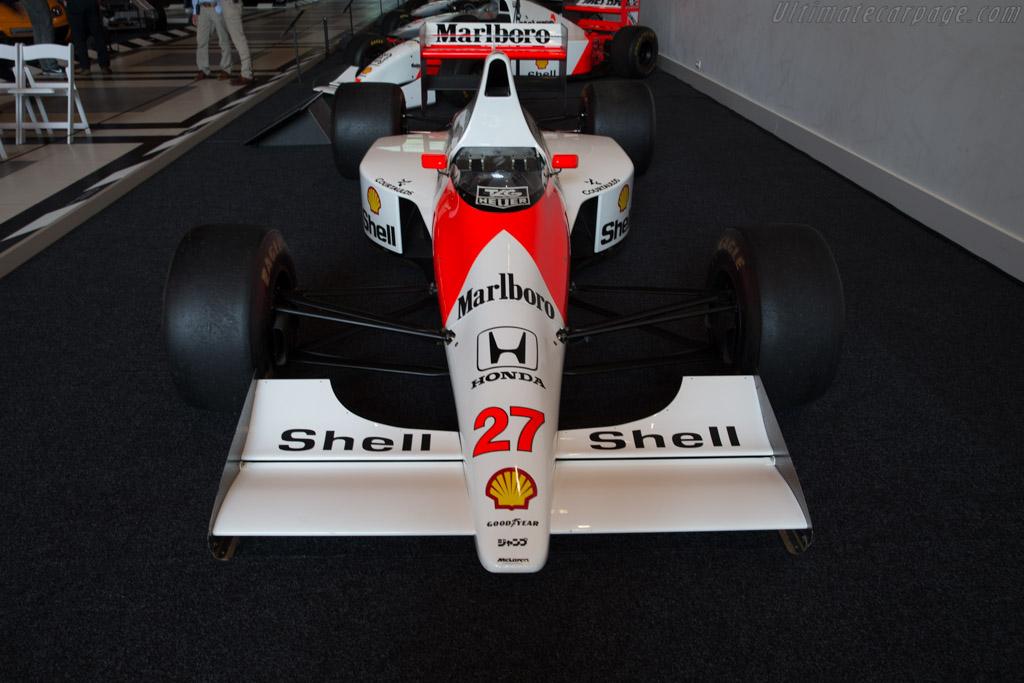 McLaren MP4/5B Honda    - McLaren at the Louwman Museum