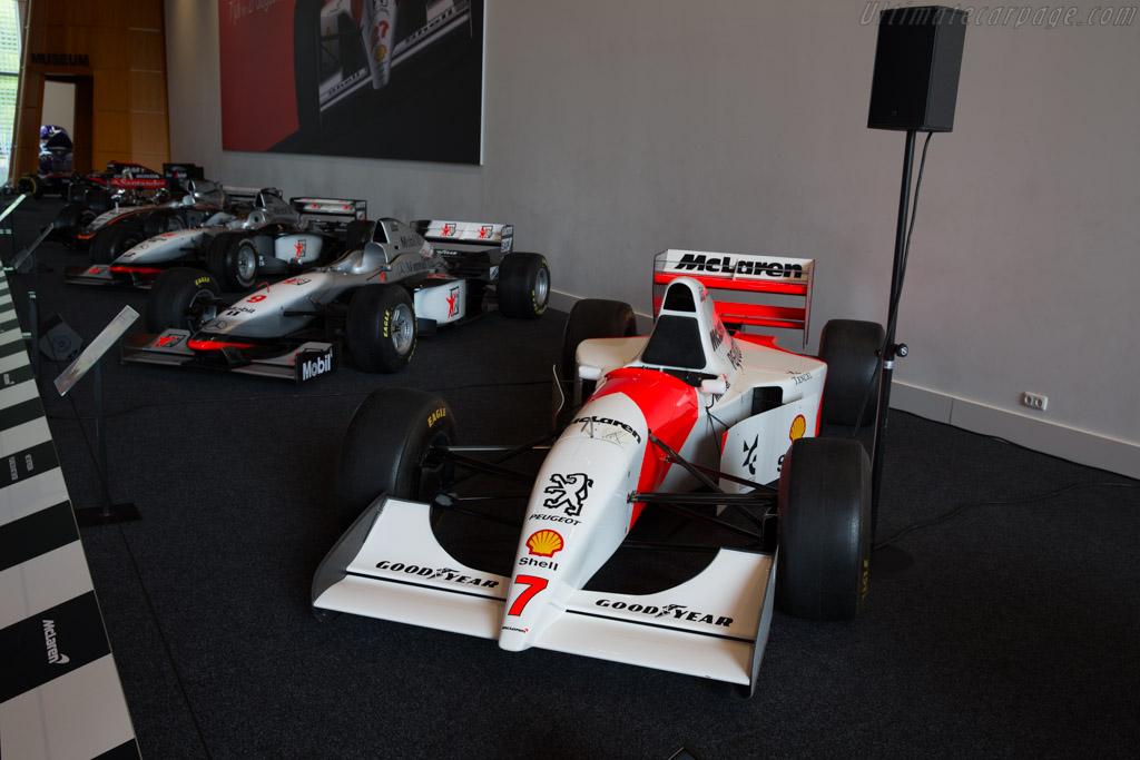 McLaren MP4/9 Peugeot    - McLaren at the Louwman Museum