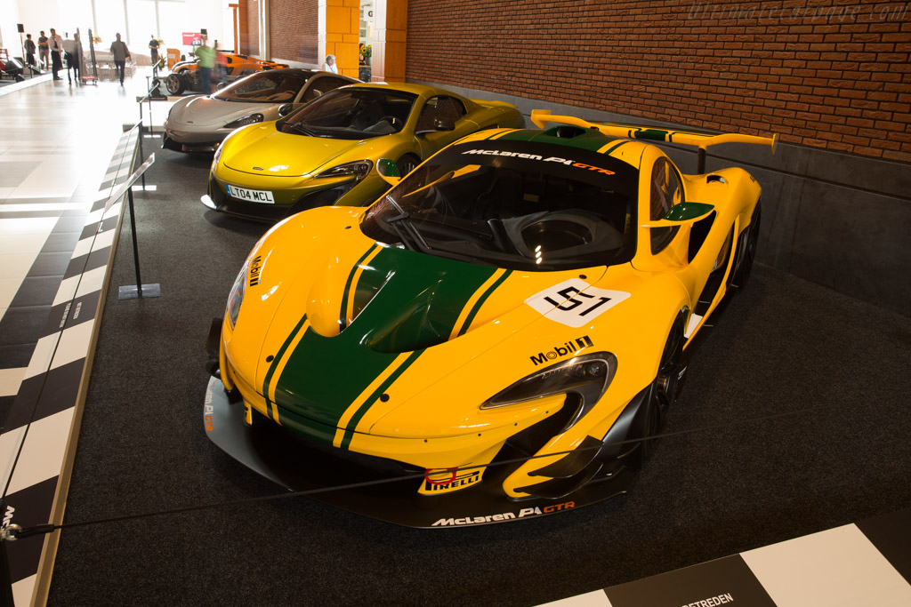 McLaren P1 GTR    - McLaren at the Louwman Museum