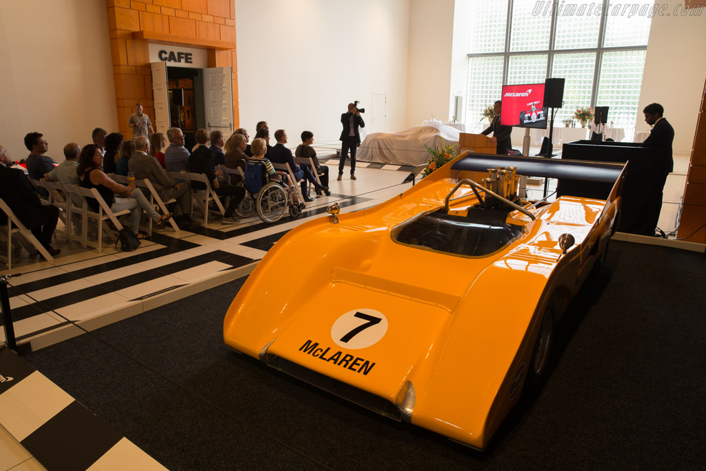 The opening ceremony - Chassis: M8F/1   - McLaren at the Louwman Museum