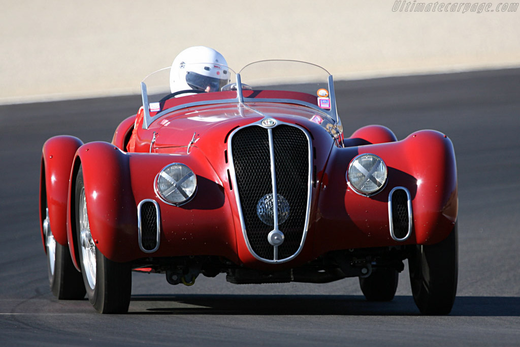 Alfa Romeo 6C 2500 SS    - 2007 Monterey Historic Automobile Races