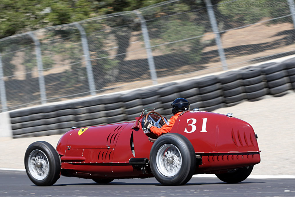 Alfa Romeo 8C 35 - Chassis: 50012 - Driver: Peter Giddings  - 2007 Monterey Historic Automobile Races