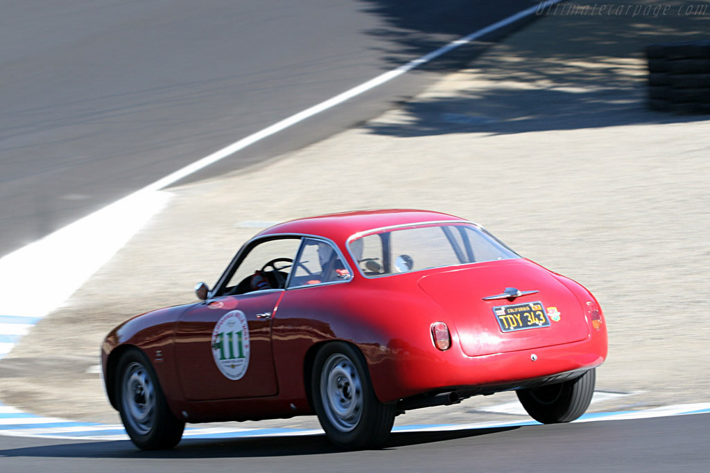 Alfa Romeo Giulietta SZ    - 2007 Monterey Historic Automobile Races
