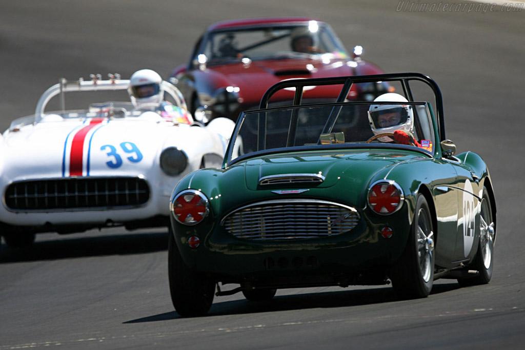 Austin Healey 3000    - 2007 Monterey Historic Automobile Races