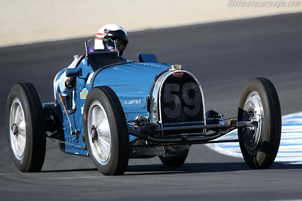Bugatti Type 59 - Chassis: BC 159   - 2007 Monterey Historic Automobile Races