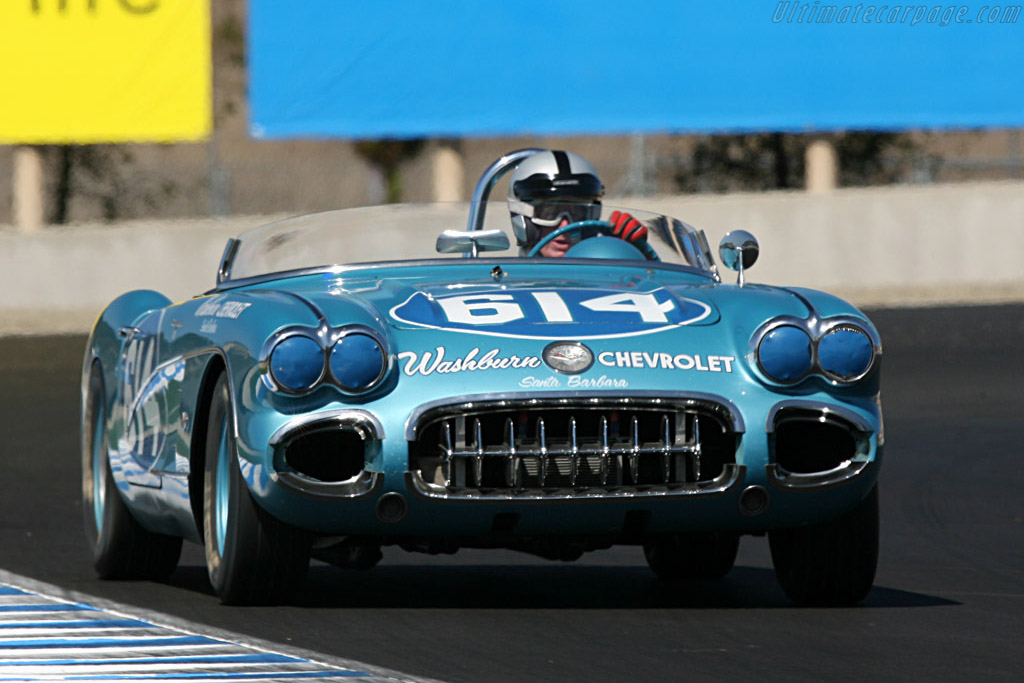 Chevrolet Corvette    - 2007 Monterey Historic Automobile Races