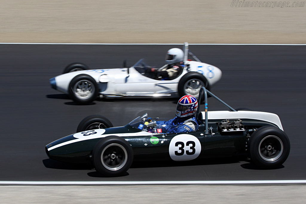 Cooper T56 Formula Jnr    - 2007 Monterey Historic Automobile Races