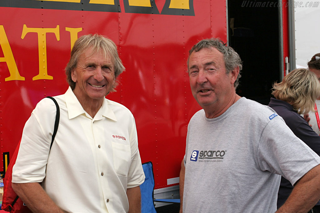 Derek Bell & Nick Mason    - 2007 Monterey Historic Automobile Races