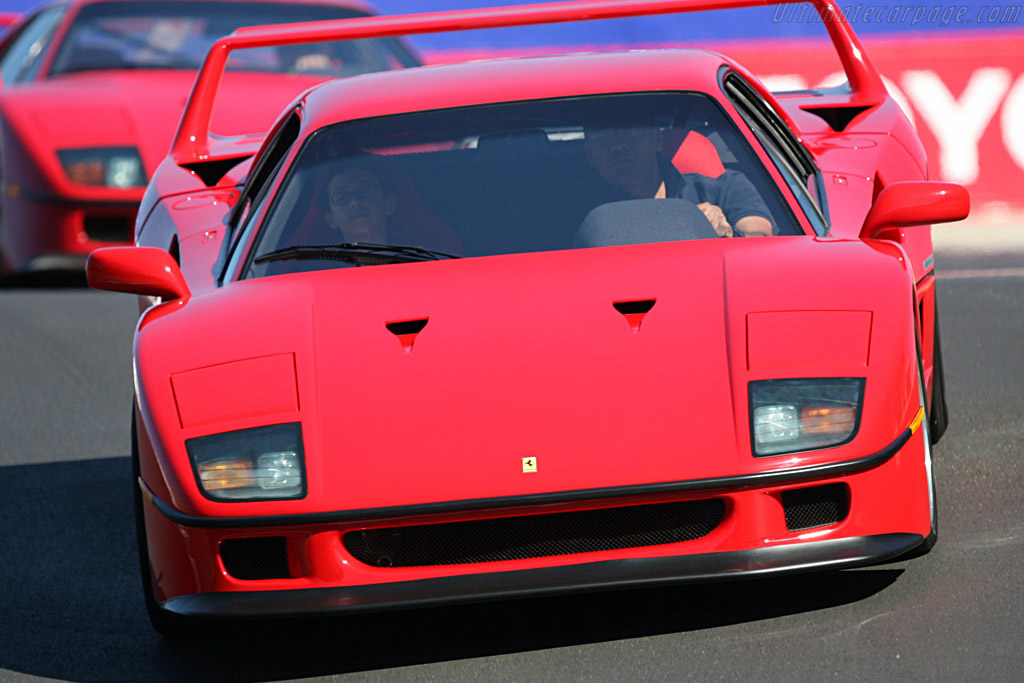 Ferrari F40    - 2007 Monterey Historic Automobile Races