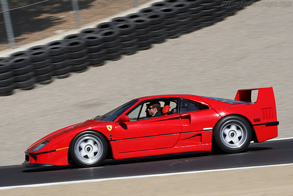 Ferrari F40    - 2007 Monterey Historic Automobile Races