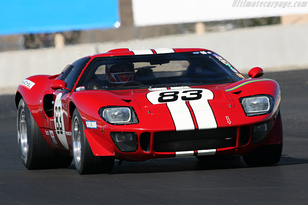 Ford GT40 - Chassis: GT40P/1083   - 2007 Monterey Historic Automobile Races