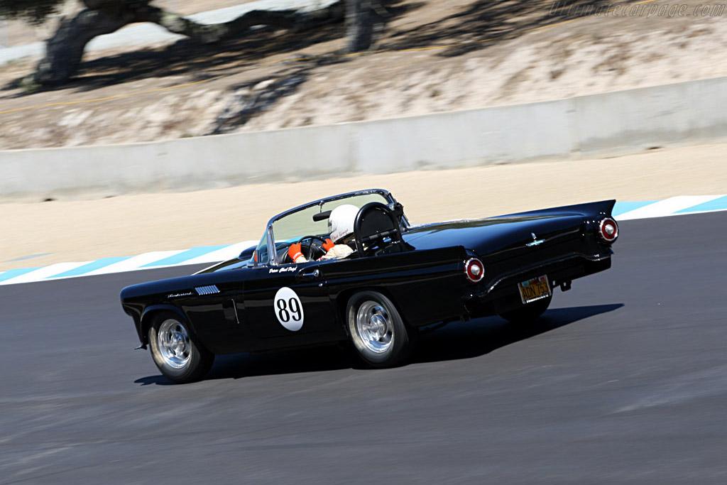 Ford Thunderbird    - 2007 Monterey Historic Automobile Races