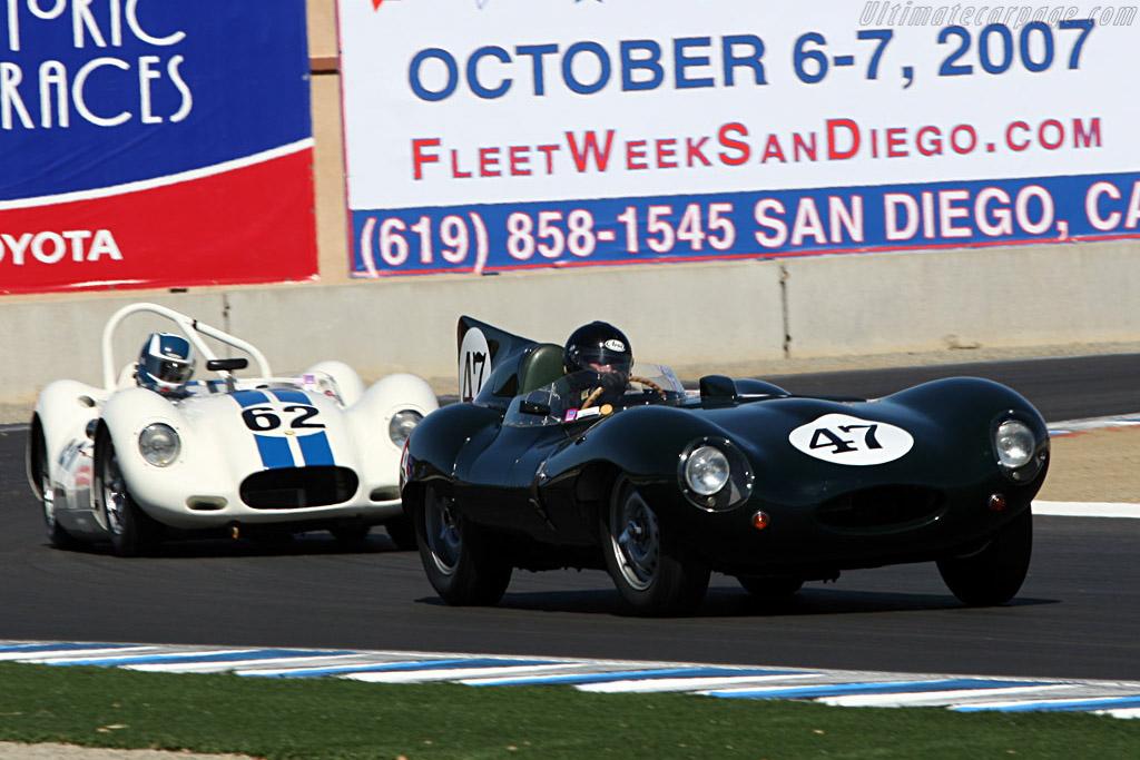 Jaguar D-Type - Chassis: XKD 575   - 2007 Monterey Historic Automobile Races