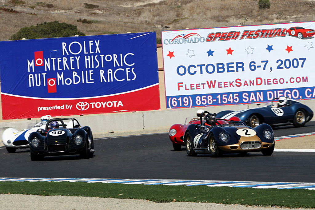 Lister Chevrolet - Chassis: BHL 108   - 2007 Monterey Historic Automobile Races