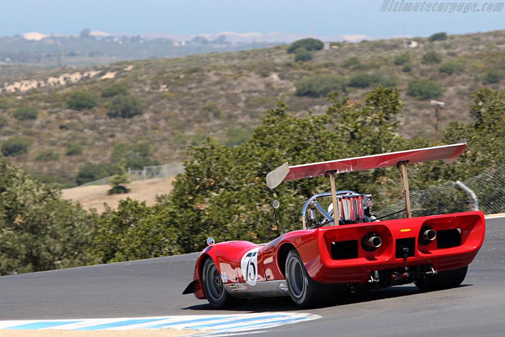 Lola T163  - Driver: Brian Blain  - 2007 Monterey Historic Automobile Races