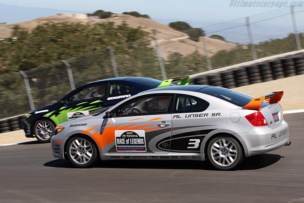 Pole Man Unser Sr.    - 2007 Monterey Historic Automobile Races