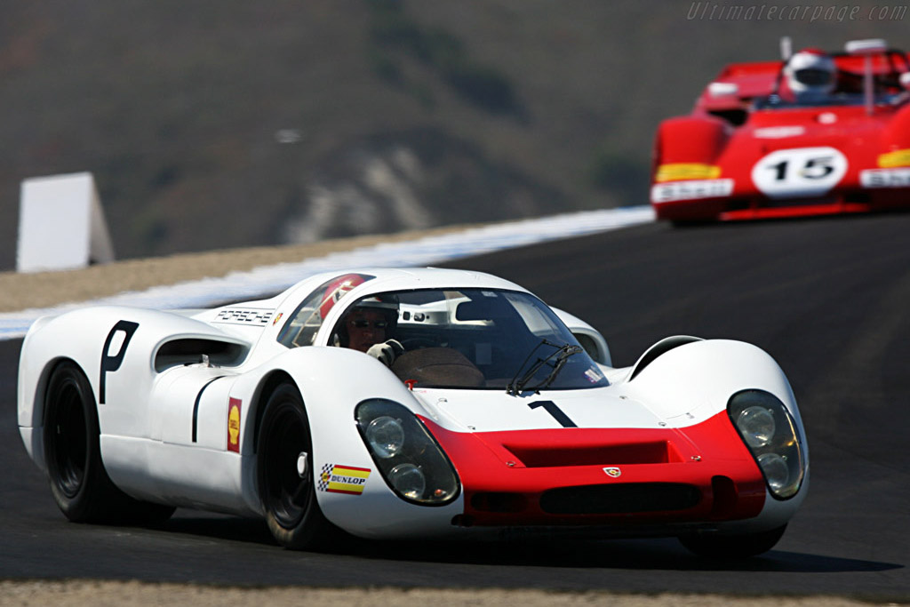 Porsche 908 Coupe - Chassis: 908-019   - 2007 Monterey Historic Automobile Races