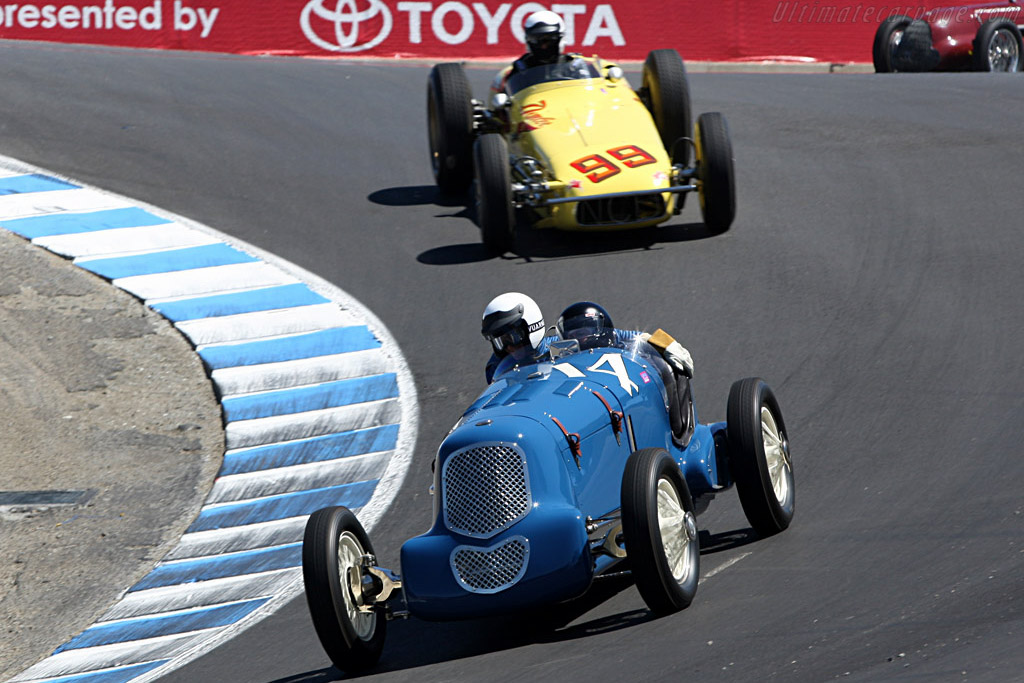 Purring-Offenhauser Special    - 2007 Monterey Historic Automobile Races