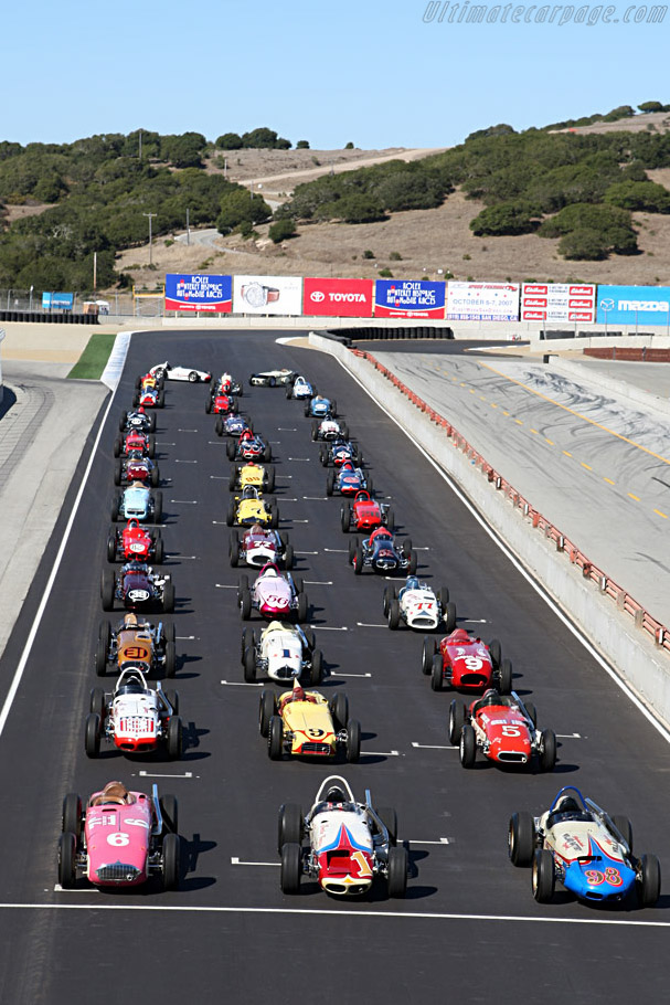 Welcome to Laguna Seca    - 2007 Monterey Historic Automobile Races