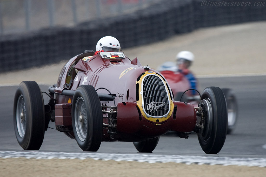 Alfa Romeo 8C 35 - Chassis: 50013 - Driver: Peter Greenfield  - 2008 Monterey Historic Automobile Races