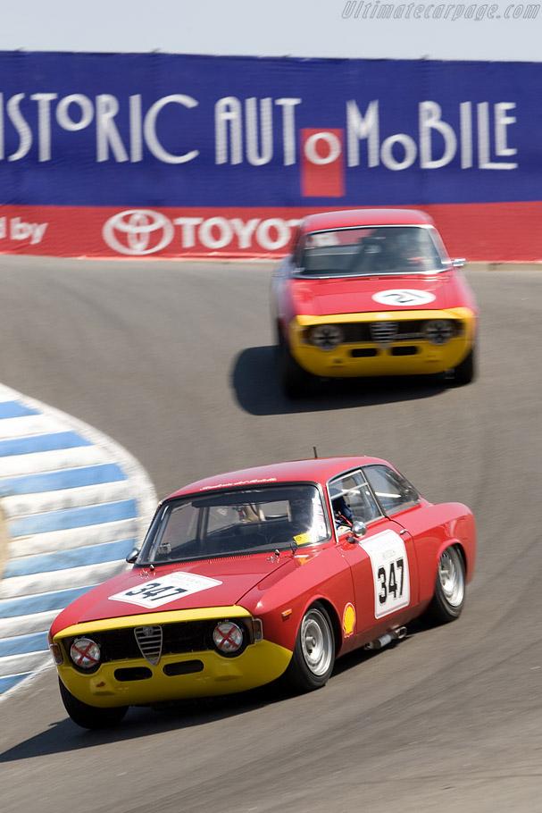 Alfa Romeo Giulia GTA    - 2008 Monterey Historic Automobile Races