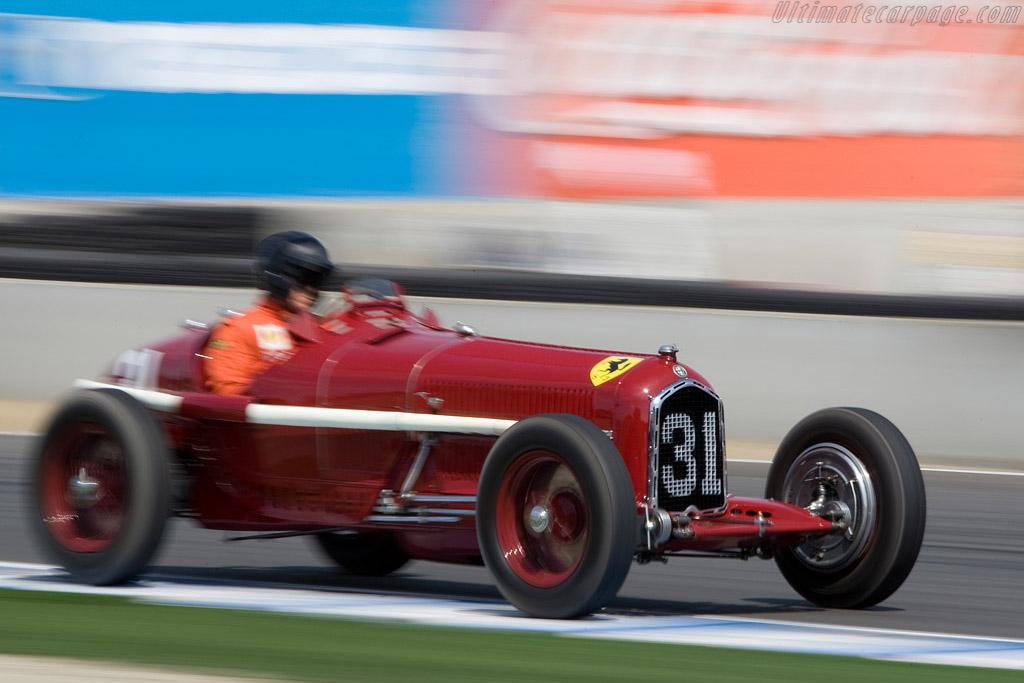 Alfa Romeo P3 - Chassis: 5006   - 2008 Monterey Historic Automobile Races