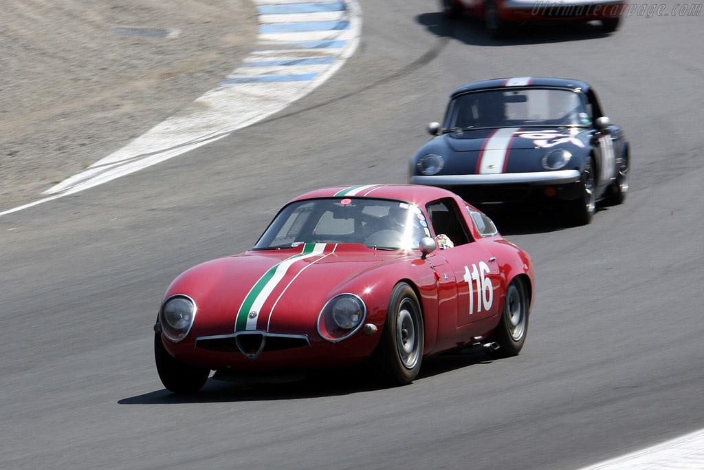 Alfa Romeo TZ    - 2008 Monterey Historic Automobile Races