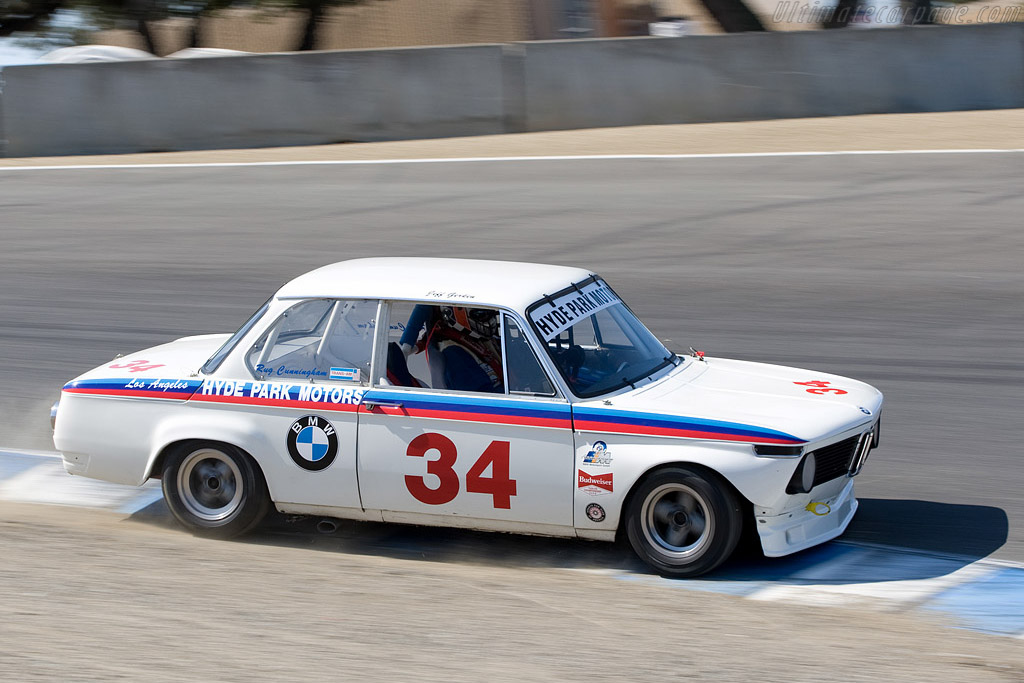 BMW 2002 Ti    - 2008 Monterey Historic Automobile Races