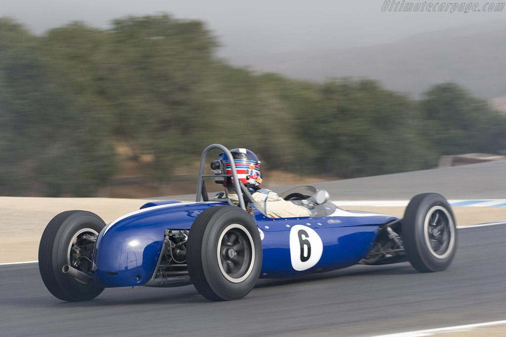 Brabham BT2 - Chassis: FJ-8-62   - 2008 Monterey Historic Automobile Races
