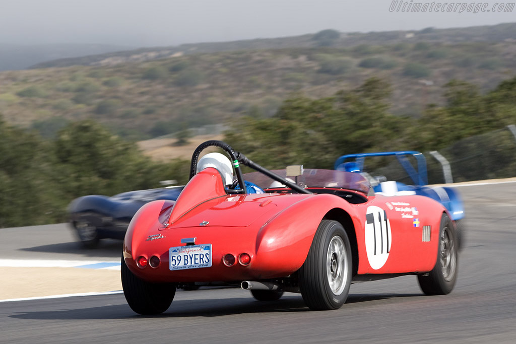 Byers Volvo    - 2008 Monterey Historic Automobile Races