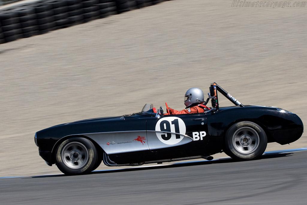 Chevrolet Corvette    - 2008 Monterey Historic Automobile Races