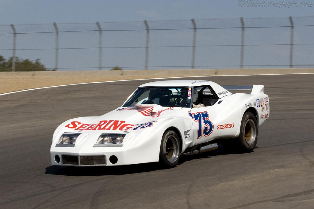 Chevrolet Corvette Greenwood    - 2008 Monterey Historic Automobile Races