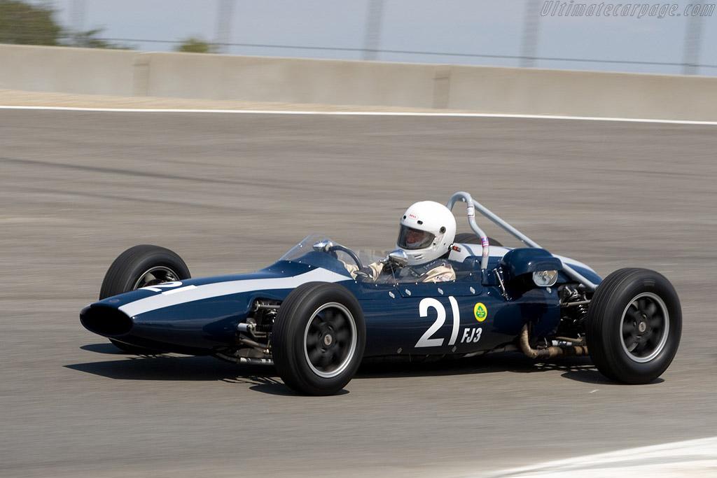 Cooper T59    - 2008 Monterey Historic Automobile Races