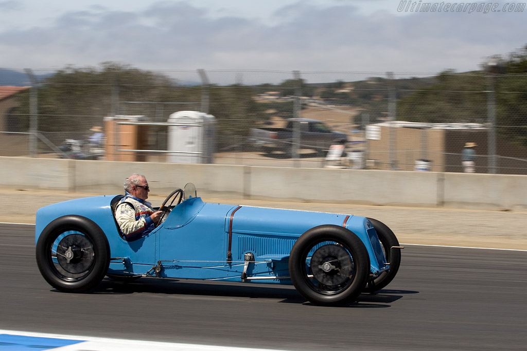 Delage 15 S8 - Chassis: 21642 - Entrant: Collier Automotive Museum  - 2008 Monterey Historic Automobile Races