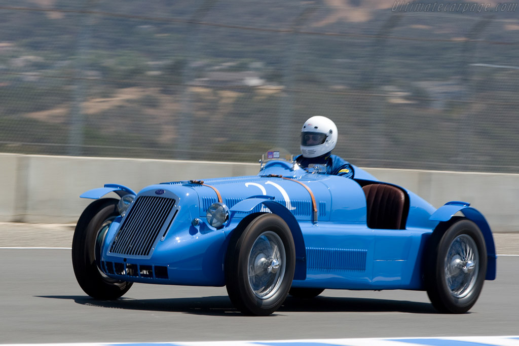 Delage D6    - 2008 Monterey Historic Automobile Races