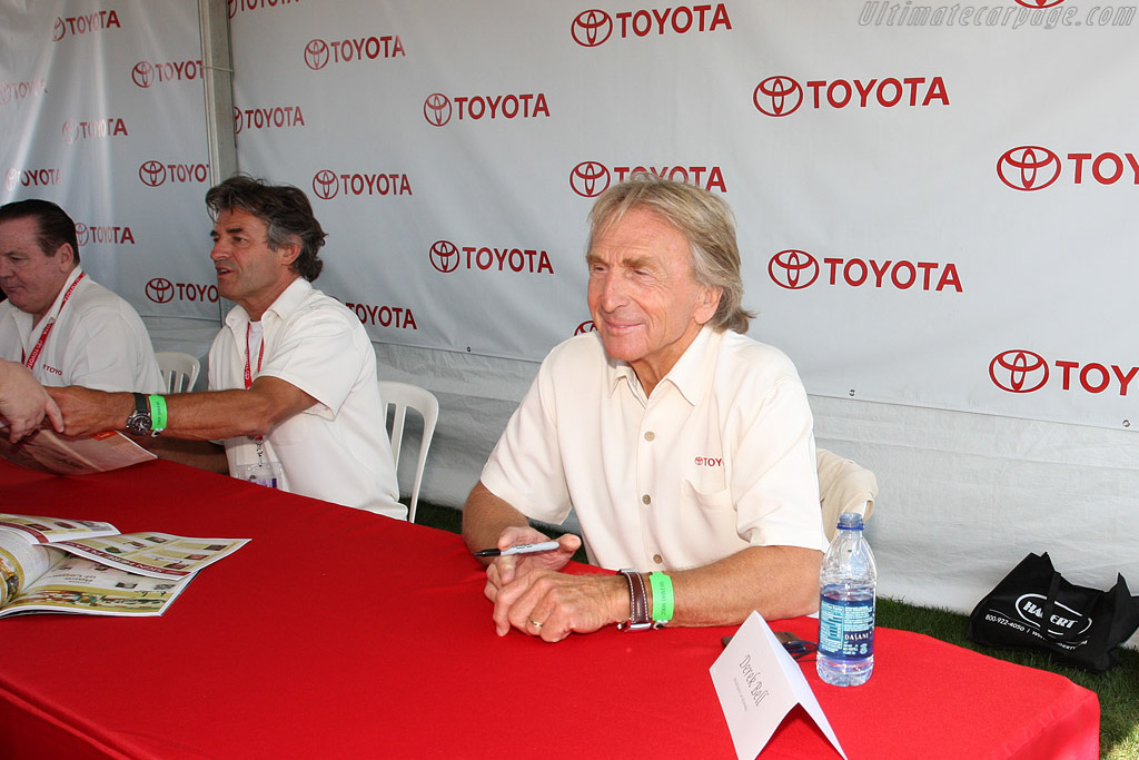 Derek Bell    - 2008 Monterey Historic Automobile Races