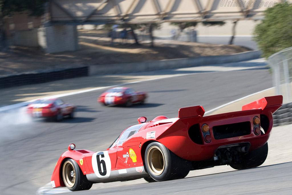 Ferrari 512 S - Chassis: 1046 - Driver: John Giordano  - 2008 Monterey Historic Automobile Races