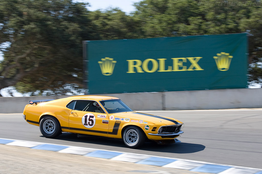 Ford Mustang Boss 302    - 2008 Monterey Historic Automobile Races