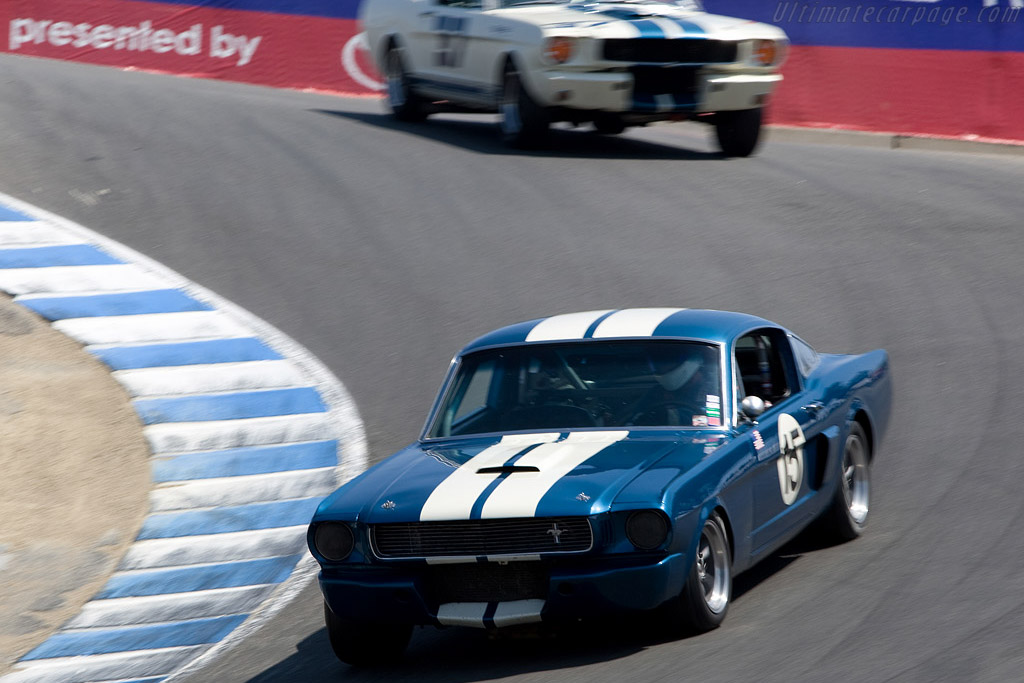 Ford Shelby Mustang GT350    - 2008 Monterey Historic Automobile Races