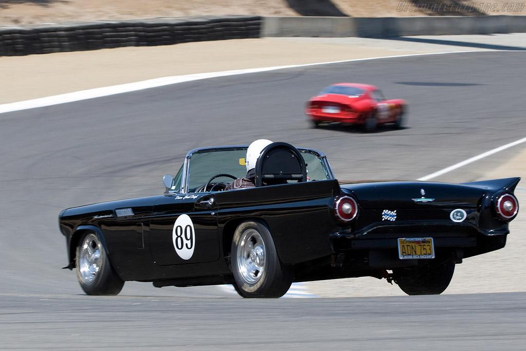 Ford Thunderbird    - 2008 Monterey Historic Automobile Races