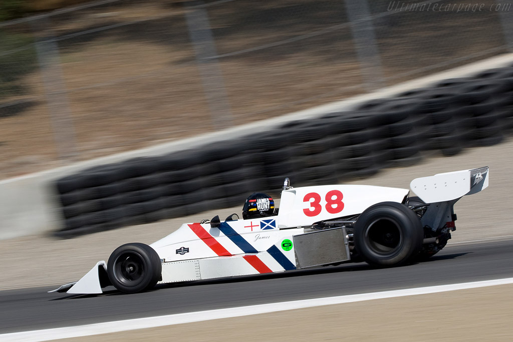 Hesketh 308C Cosworth    - 2008 Monterey Historic Automobile Races