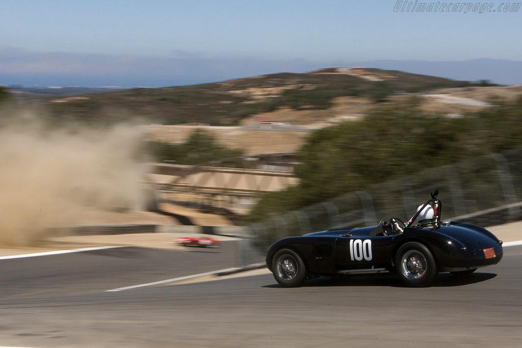 Jaguar C-Type    - 2008 Monterey Historic Automobile Races