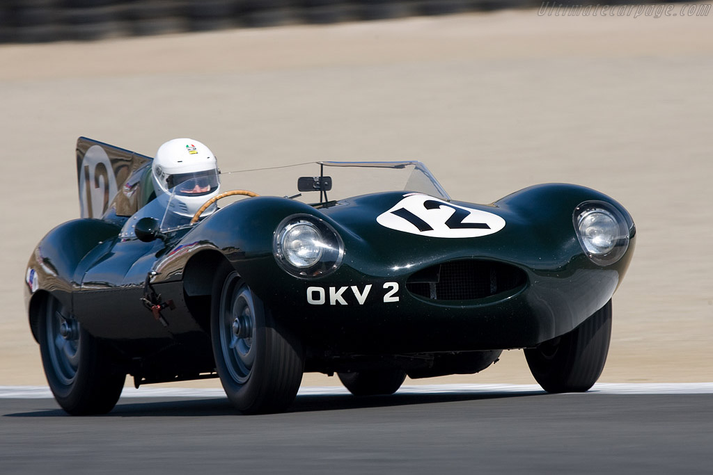 Jaguar D-Type - Chassis: XKD 403   - 2008 Monterey Historic Automobile Races